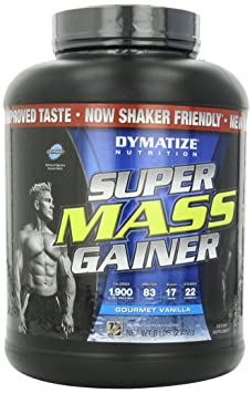 Dymatize Super Mass Gainer, Vanilla, 1er Pack (1 x 2.722 kg)