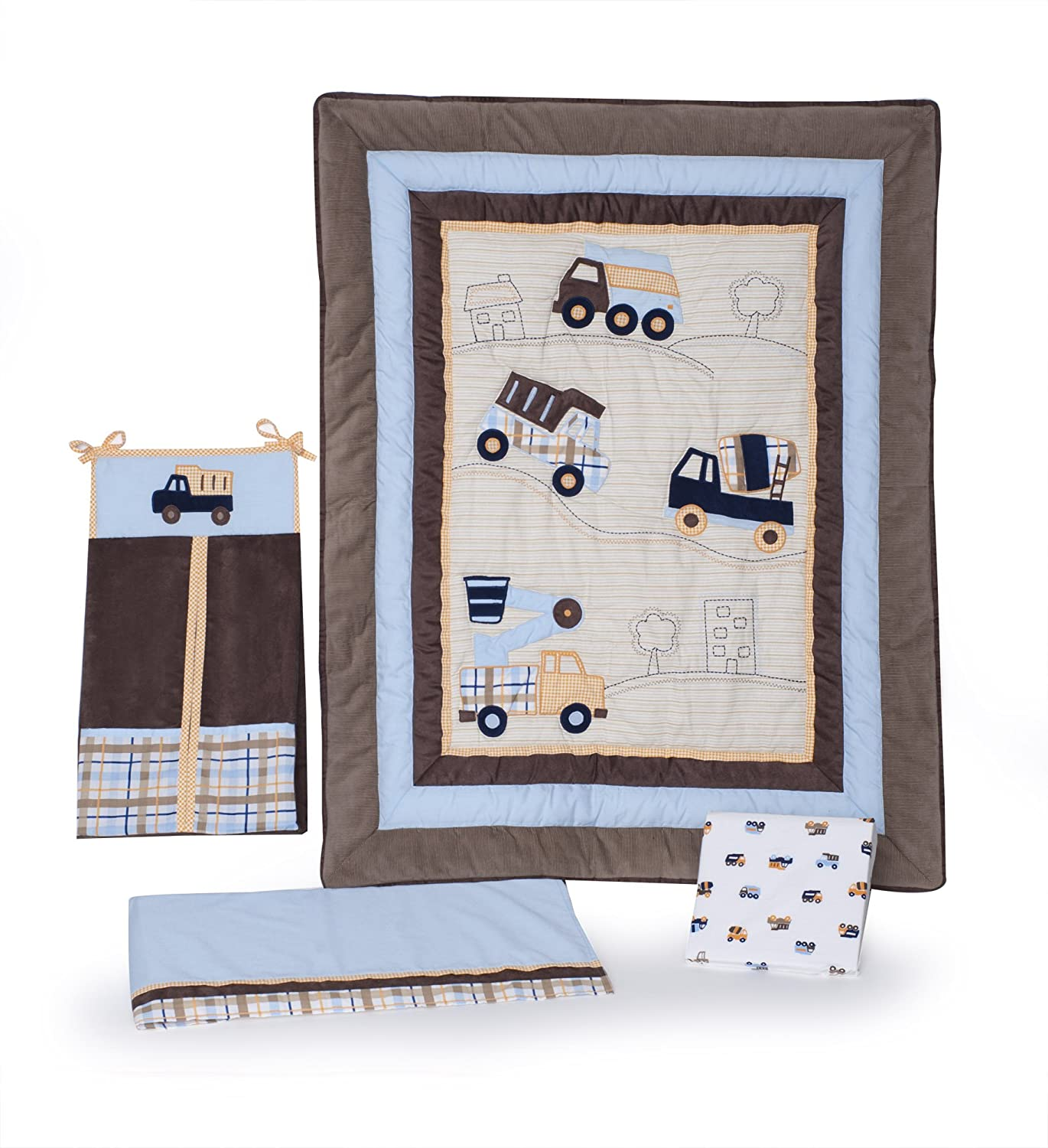 Construction Crib Bedding Totally Kids Totally Bedrooms