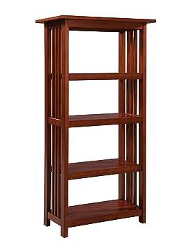 Alaterre Artisan Bookcase, 48-Inch, Cherry