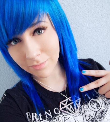Hair Color, Cobalt Blue, 4 Ounce : Hair Highlighting Products : Beauty