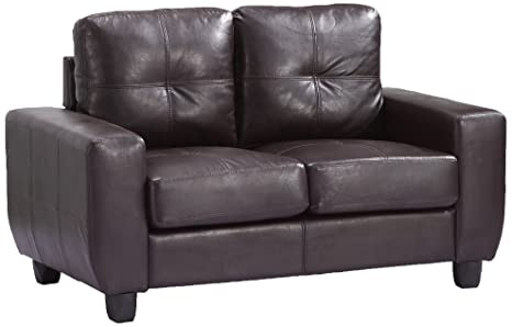 Glory Furniture G205A-L Living Room Love Seat, Cappuccino
