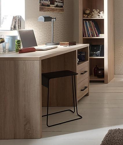 VIPACK albu1470Aline escritorio botonera de partículas roble claro 140,2x 70x 76,5cm)