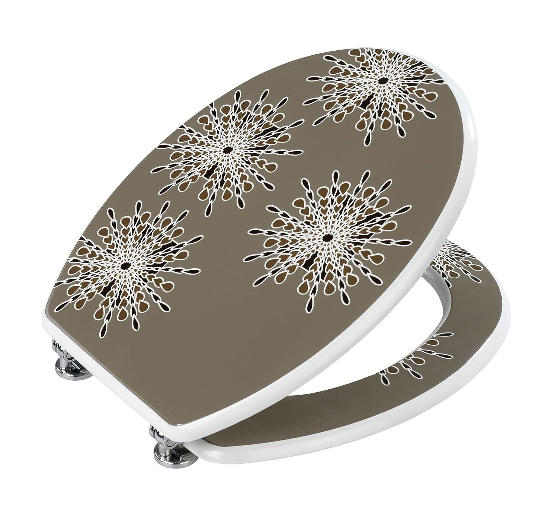 wc sitz mercure gris toilettendeckel klodeckel klobrille. Black Bedroom Furniture Sets. Home Design Ideas