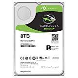 Seagate 8TB BarraCuda Pro SATA 6Gb/s 256MB Cache 3.5-Inch Internal Hard Drive (ST8000DM0004)
