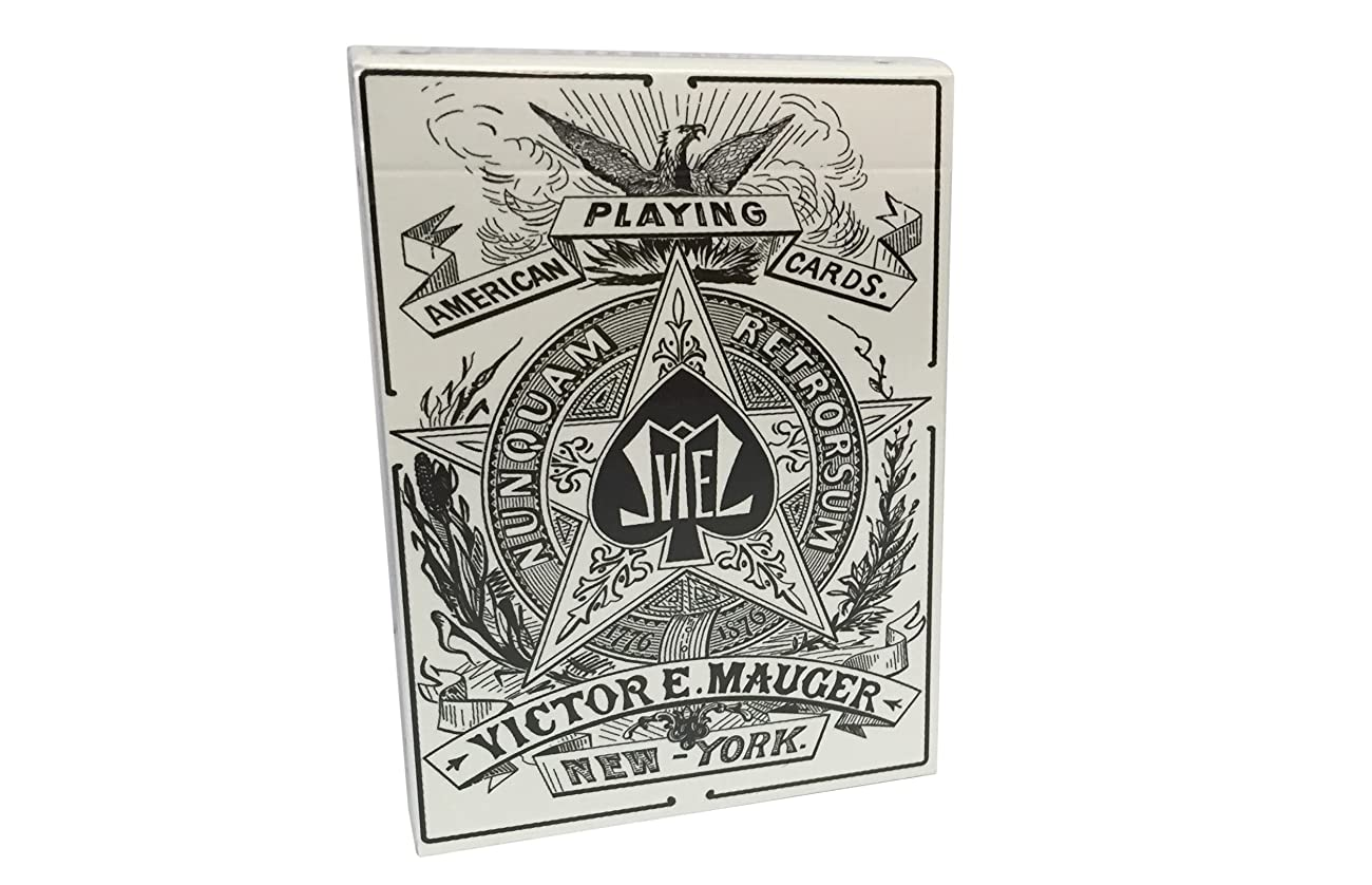 Mauger 1876 Centennial Exposition Playing Cards Restoration 0