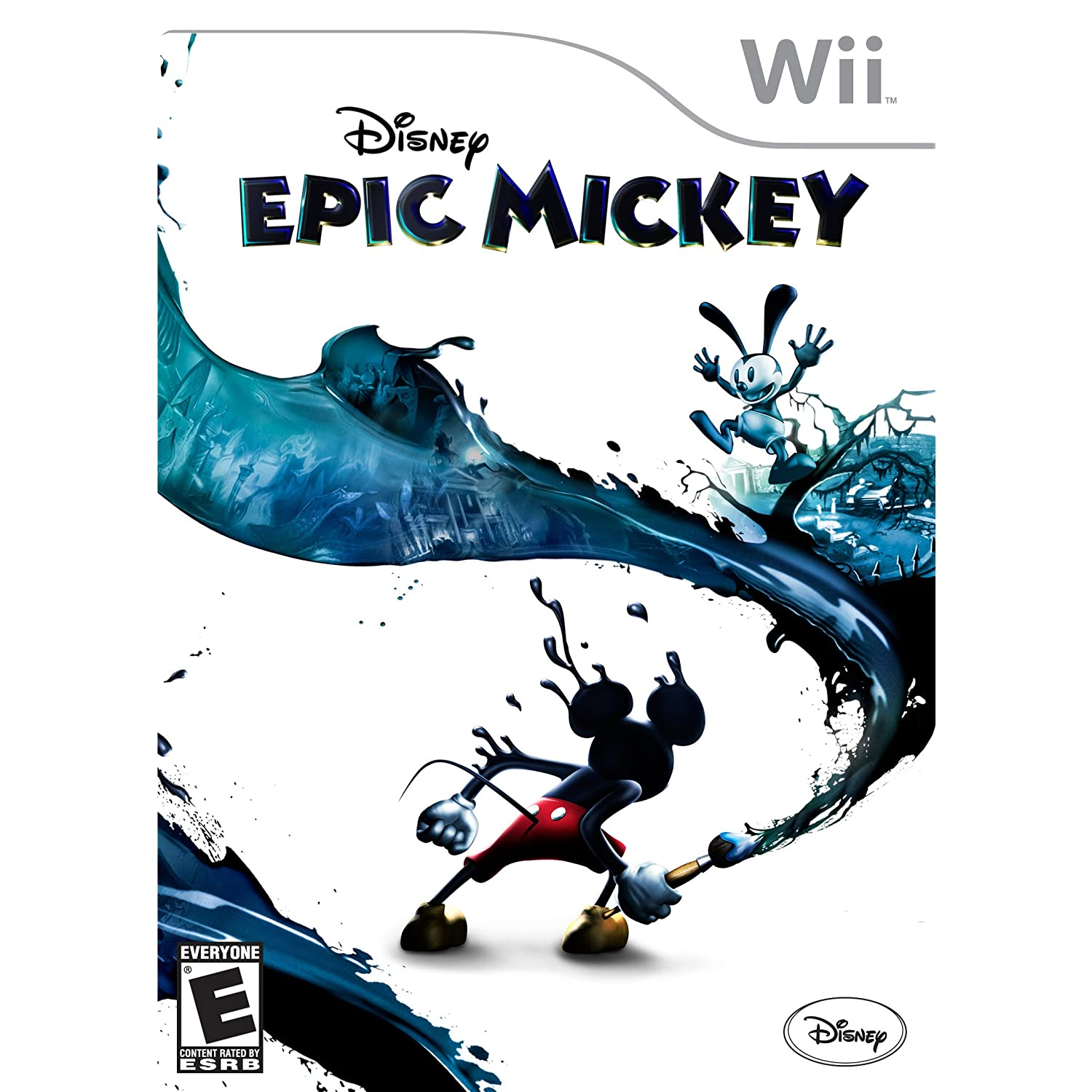 Online Game, Online Games, Video Game, Video Games, Nintendo, Wii, Action, Disney, Mickey mouse, Epic, Adventure, Disney Epic Mickey