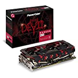 PowerColor AXRX 590 8GBD5-3DH/OC Graphic Cards, Black/Red (Color: Black/Red)
