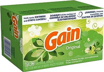 Gain Dryer Sheets