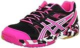 ASICS Women's Gel-1140V Running Shoe,Black/Hot Pink/White,10 M US