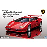 Aoshima 1/24 Super Car Series No.18 Lamborghini Countach 5000qv '88