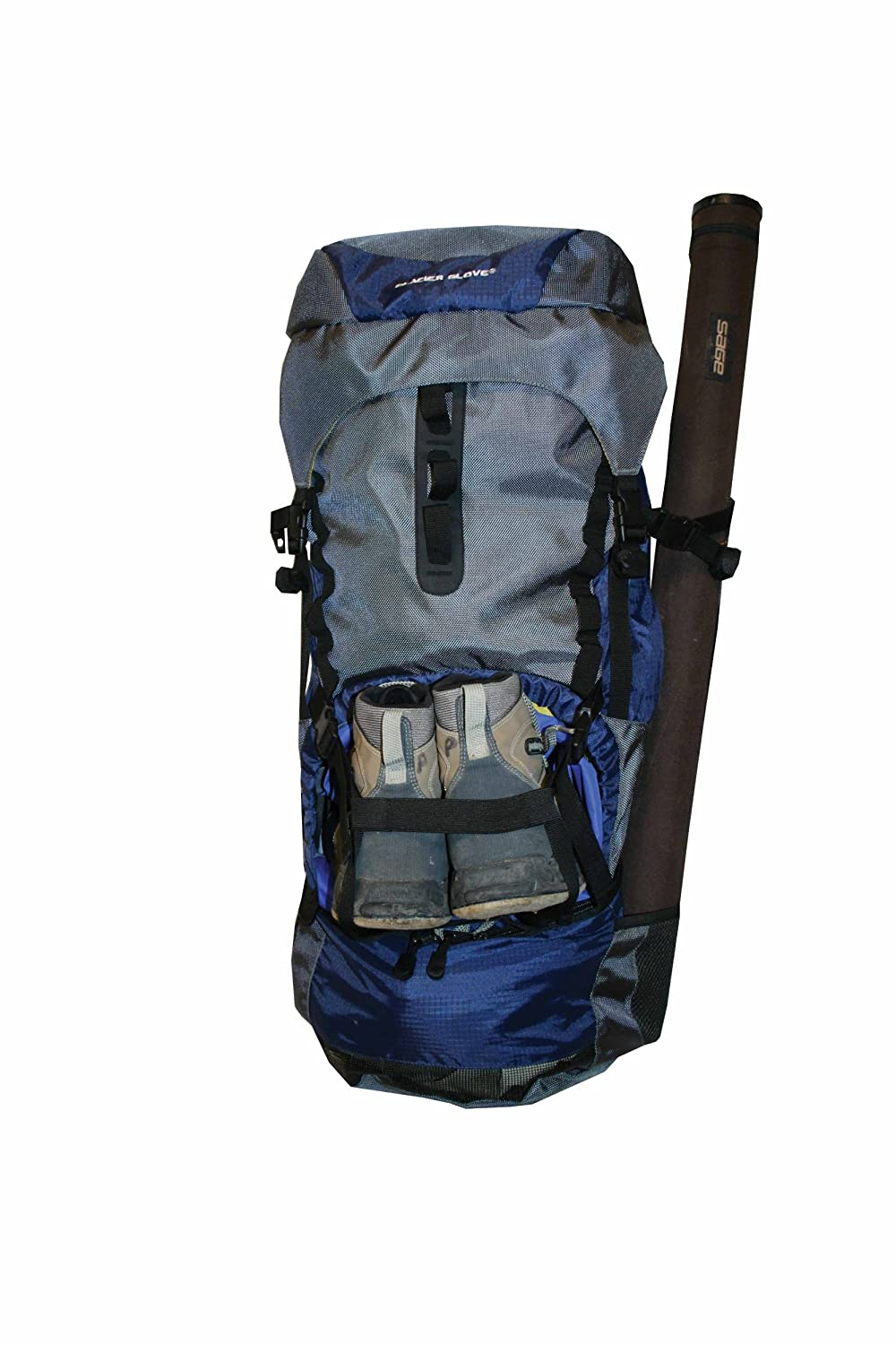 What size backpack for gear tube for Backpacking fishing kit
