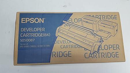 EPSON ePL 5900/6100 developer cartr de modèle remanufacturés
