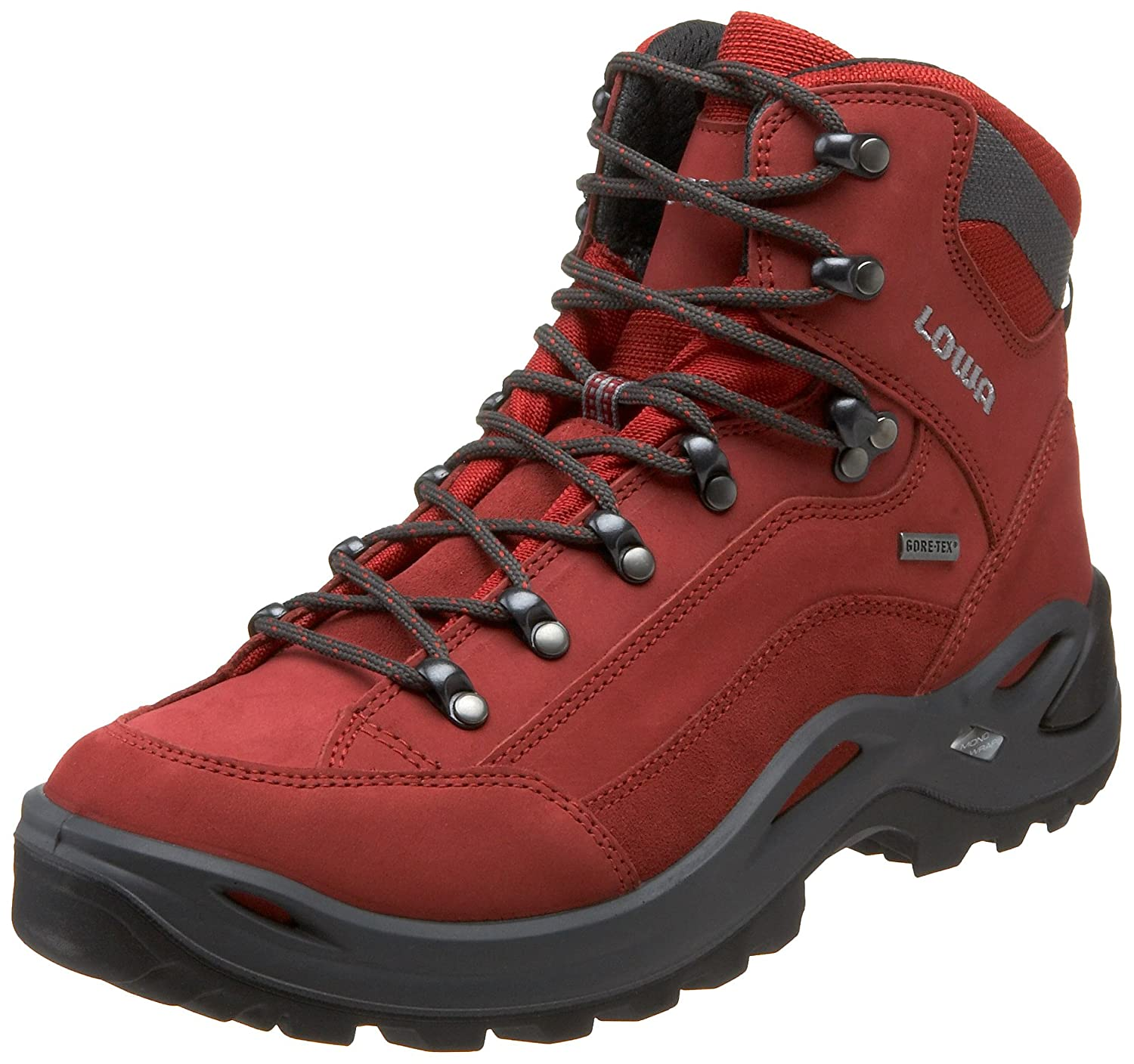 lowa women 39 s renegade gtx mid hiking boot red 8 5 m us. Black Bedroom Furniture Sets. Home Design Ideas