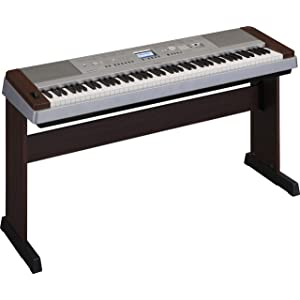Yamaha DGX640W Digital Piano (Walnut)