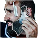 Monster&Son Beard Shaping Tool - New Innovative Design for 2019 (Clear) (Color: Clear)