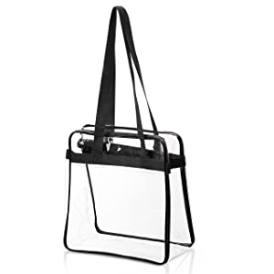 81e384e776dc ... NFL   PGA Compliant Clear Stadium Security Zippered Shoulder Bag Travel    Gym Tote By Bags ...
