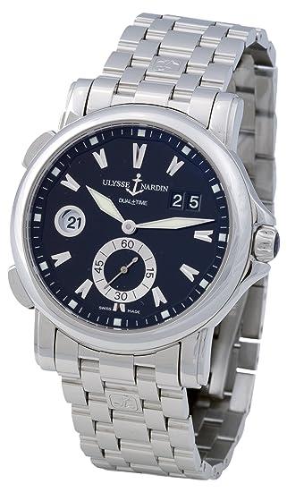 Ulysse Nardin Men's 243-55-7/92 Dual Time Watch