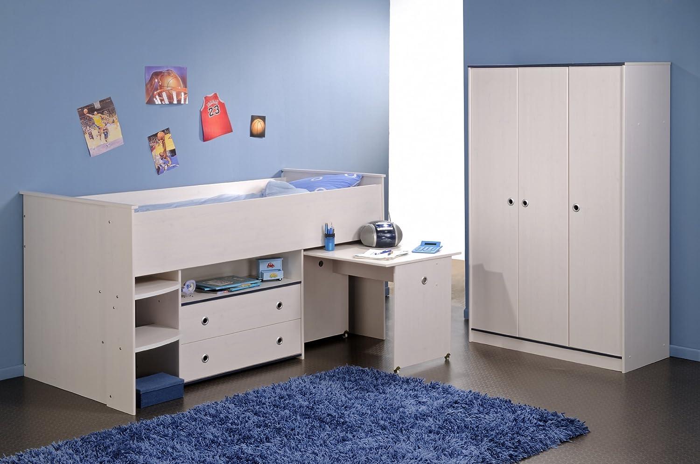 PARISOT Kinderzimmer Smoozy 2-teilig, Hochbett 110 cm