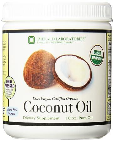 Отзывы Emerald Laboratories Coconut Oil Liquid, 16 Ounce