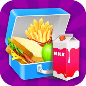 School Lunch 2 : Lunch Box Maker! by Black Belt Clown