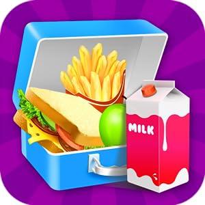 School Lunch 2 : Lunch Box Maker! by Black Belt Clown