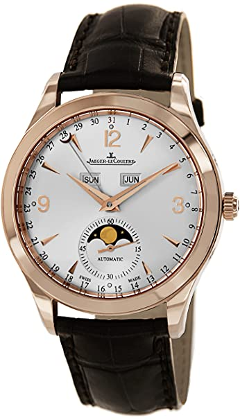 Jaeger LeCoultre Master Calendar Automatic Rose Gold Mens Watch Q1552520