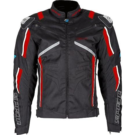 Spada moto Textile veste X-Sport WP noir/rouge/blanc