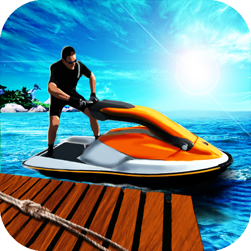 Water Bike Parking 3D Free