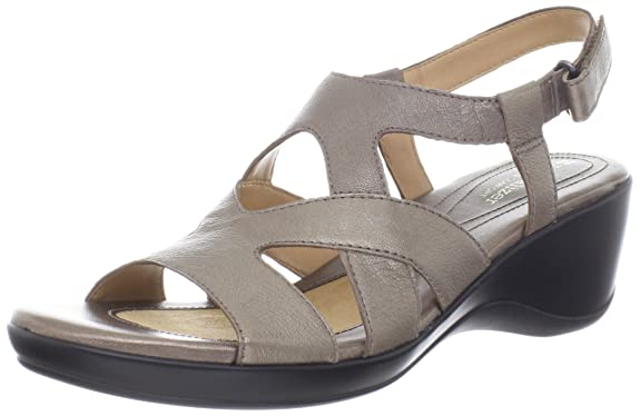 Ladies New Colorway Naturalizer WoTanner Wedge Sandal Clearance Colors Options