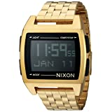 Nixon Men's 'Base' Digital Module Stainless Steel Casual Watch, Color:Rose Gold-Toned (Model: A1107) (Color: All Gold, Tamaño: One Size)