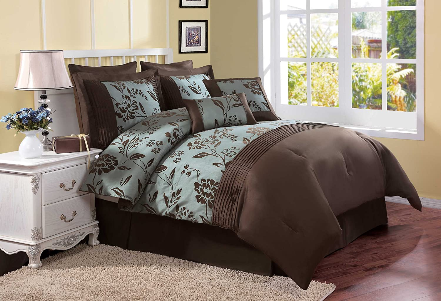 Brown And Blue Bedding Archives Bedroom Decor Ideas