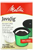 Melitta Java Jig, Reusable K-Cups for Keurig K-Cup Brewers, Uses Melitta Paper Coffee Filters,2 cups and 30 filters