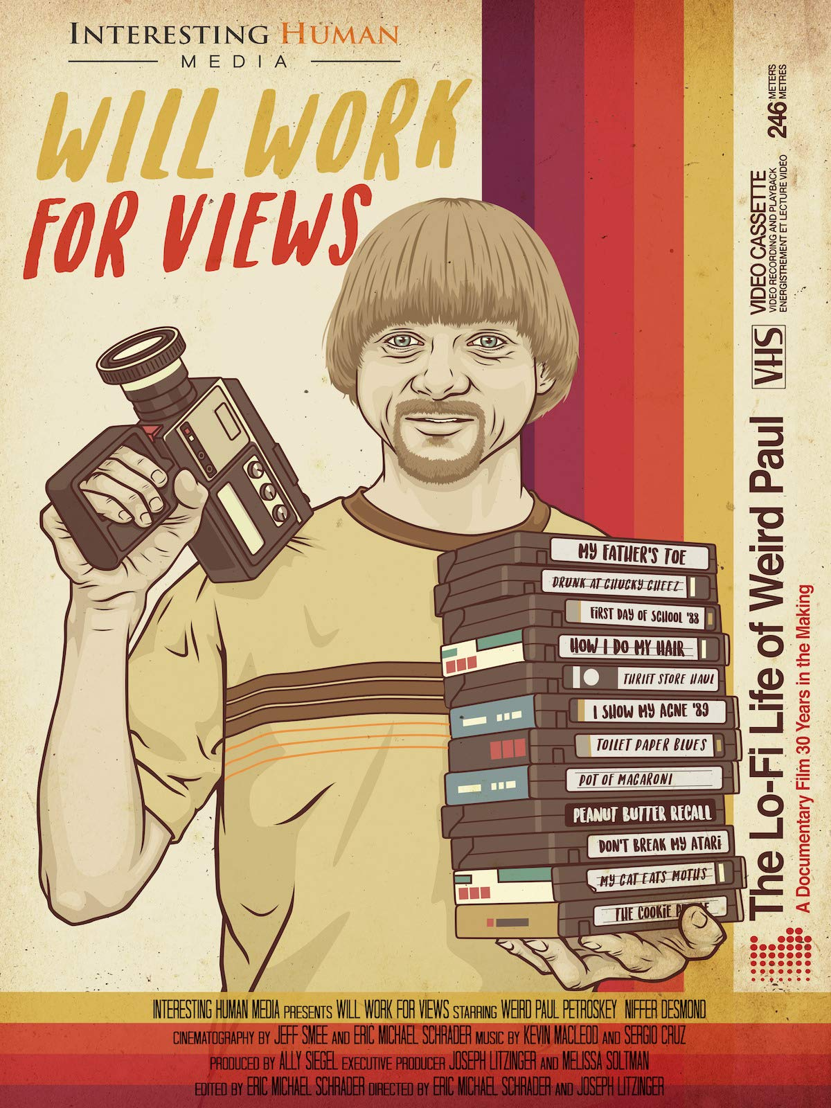 Will Work For Views: The Lo-Fi Life Of Weird Paul on Amazon Prime Video UK