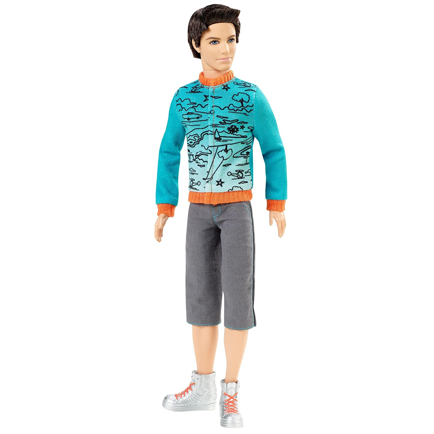 Ken Fashionista Barbie Fashionistas Ken Doll