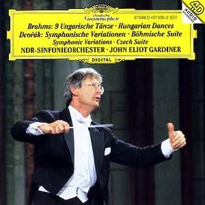 Brahms: Hungarian Dances / Dvorák: Symphonic Variations, Czech Suite