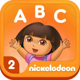 Dora ABCs Vol 2: Rhyming Words (Kindle Tablet Edition)