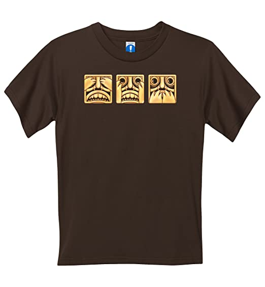Temple Run - Kids Run From Evil T-Shirt - Brown - 8