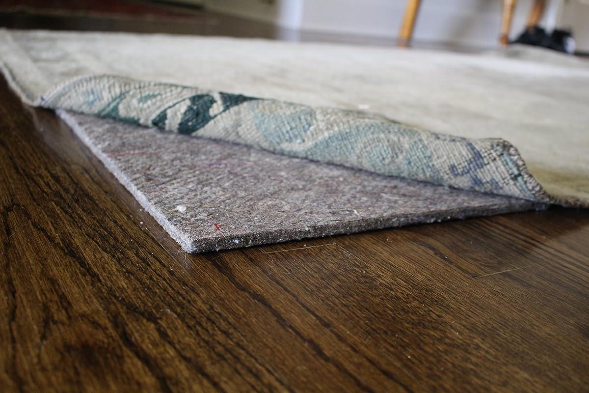 8x10 Natural Comfort 20(TM) 1/4 inch 100% Felt Rug Pads (8x10)