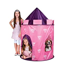 Discovery Kids Indoor/ Outdoor Princess Play Castle Pink Play Tent