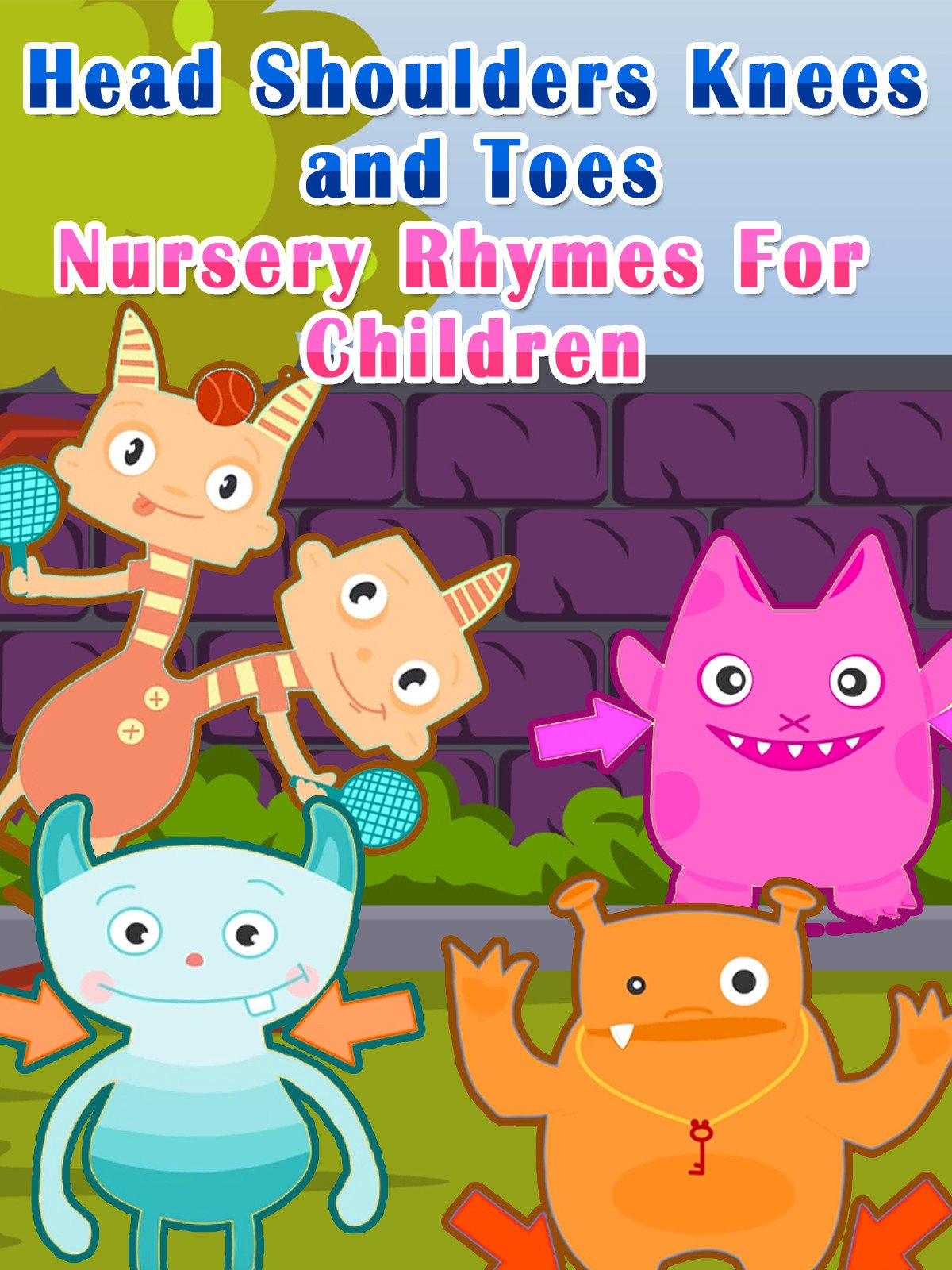 Head Shoulders Knees and Toes Nursery Rhymes For children