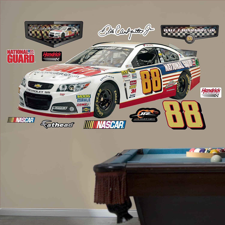 Race Track Wall Stickers Nascar Bedroom Decor