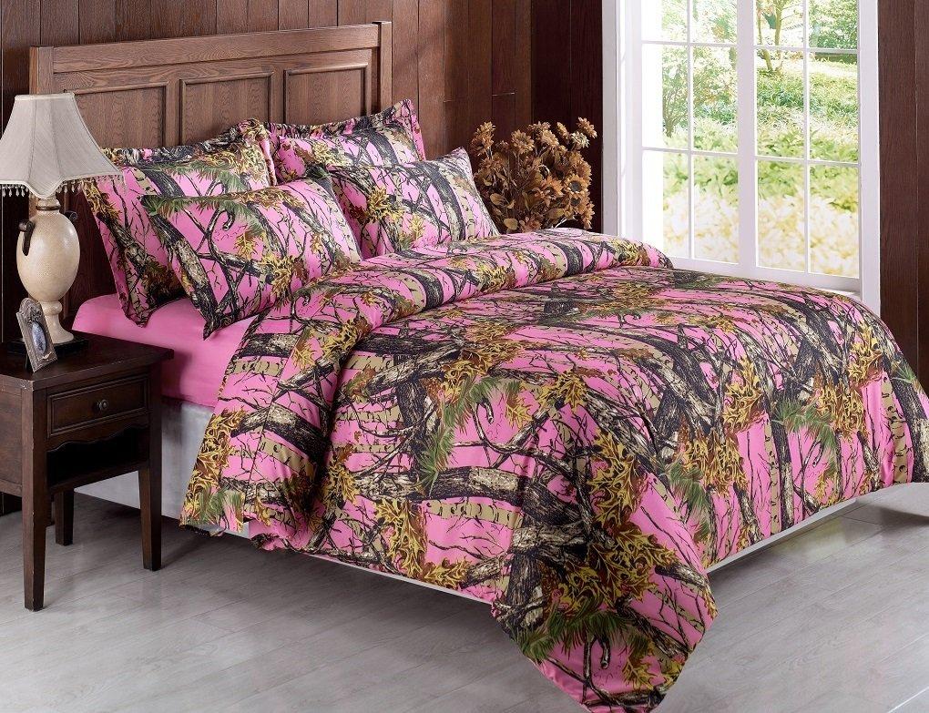 pink camo comforter queen for pinterest