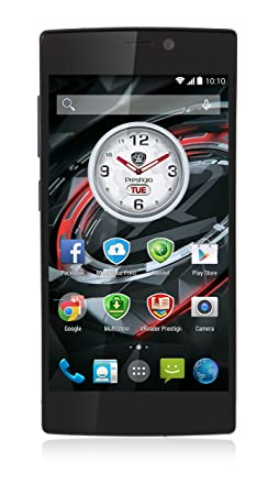 "SMARTPHONE PRESTIGIO PSP7557BLACK Black 5"" SingleSim MT6592 OctaCore 1.7GHz 2GB 16GB 13+5Mpx GPS Android 4.4"