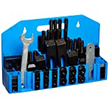 HHIP 3900-0001 58 Piece Clamping Kit (5/8 Inch T-Slot) Stud Size 1/2-13 (Tamaño: 5/8