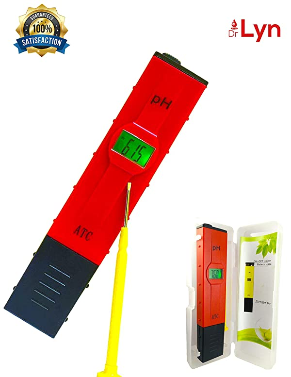Dr Lyn Digital Ph Pen Water Tester Meter 0 14 Ph For Easy Home