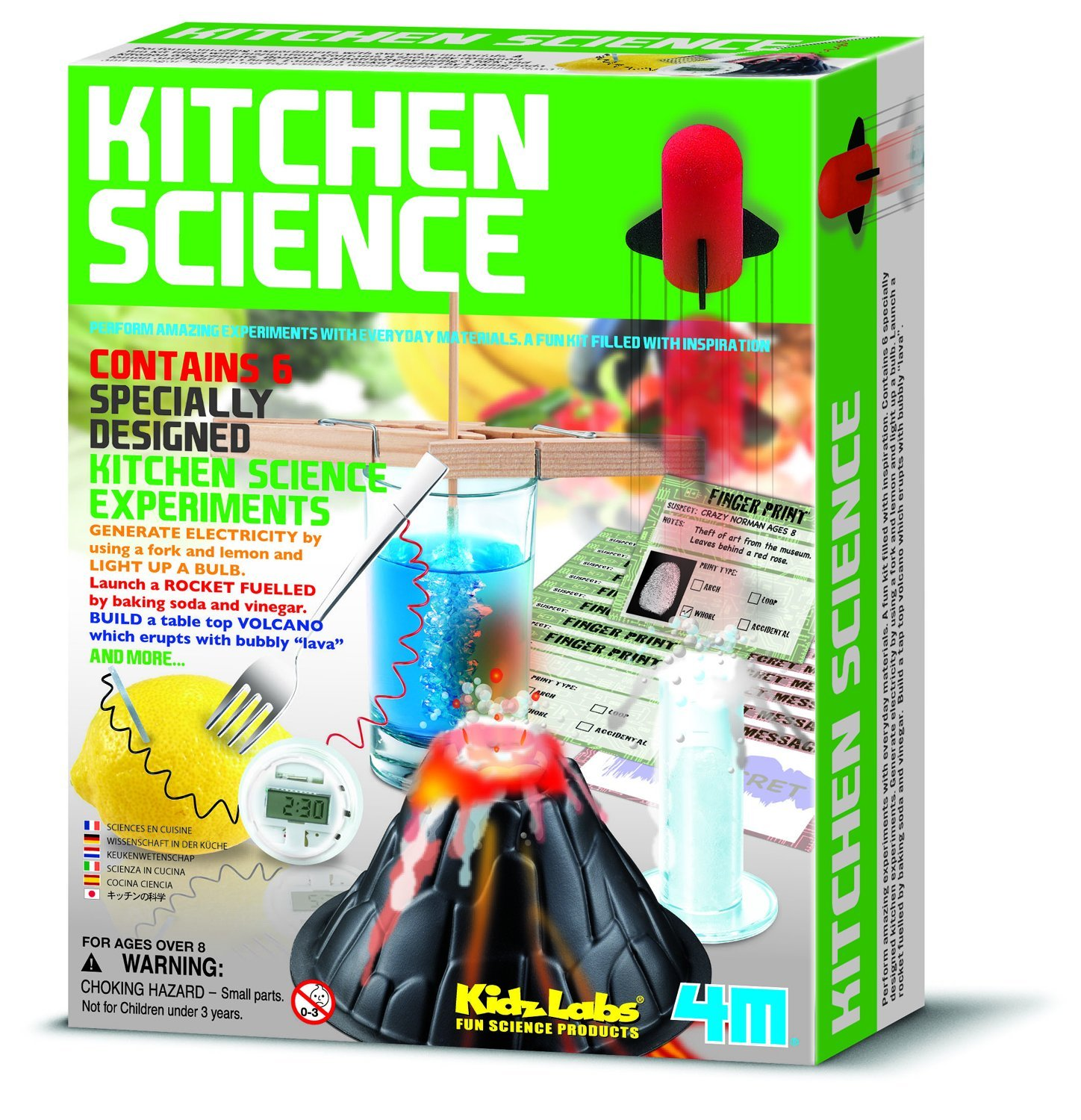 Fun kitchen science kit