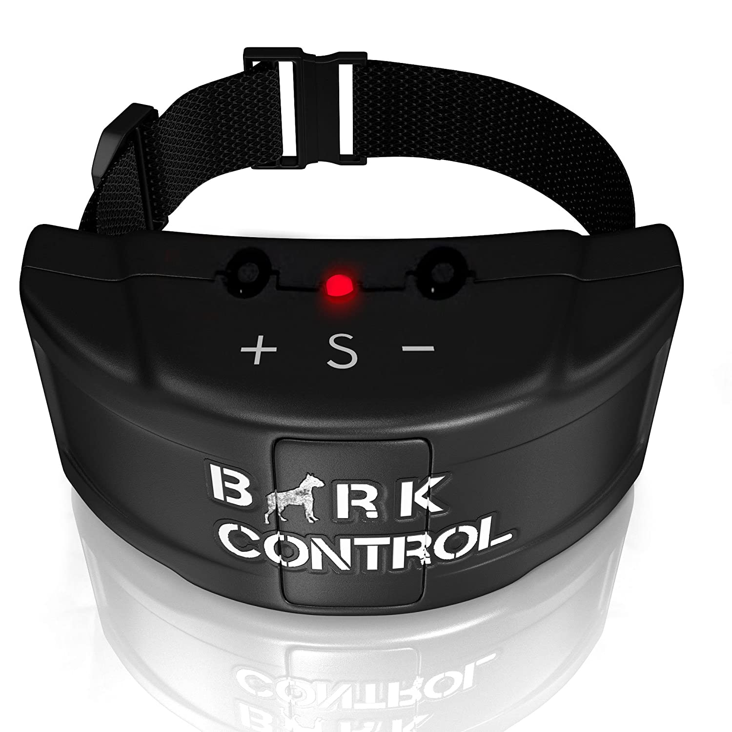 Bark Control Pro Collar for Small and Large Dogs - 2016 Version + Two Batteries - Read Our 100% Satisfaction Guarantee (Initial Launch Sale)