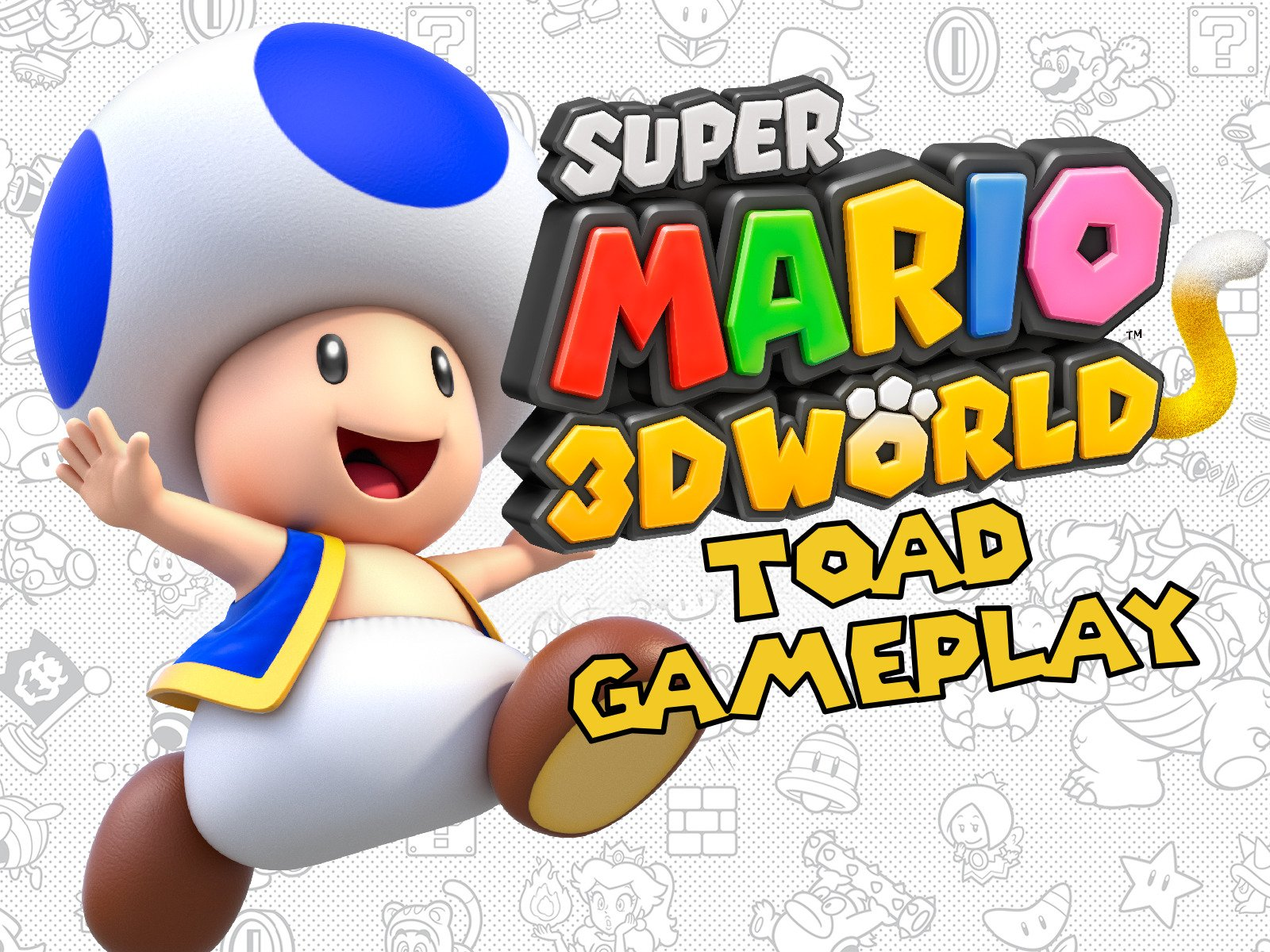 Super Mario 3D World Toad Gameplay on Amazon Prime Instant Video UK