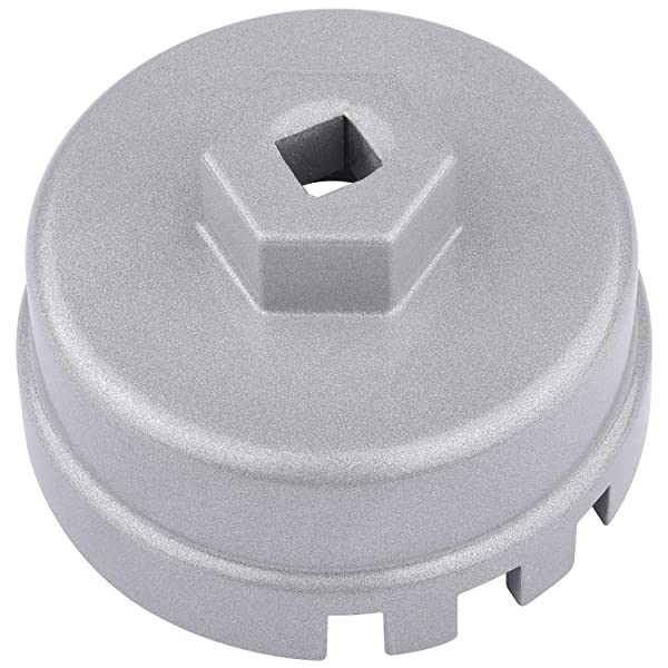 Silver Danti Oil Filter Wrench Cap for Mazda Porsche VW Audi