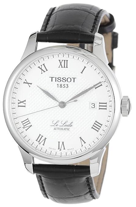 Tissot T-Classic Le Locle Mens Watch T41.1.423.33 天梭 力洛克 男士 自动机械手表(京东减满后2899元)-奢品汇 | 海淘手表 | 腕表资讯
